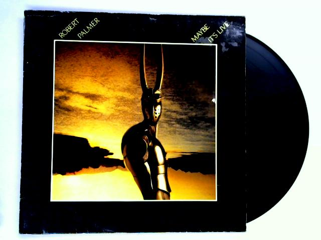 Maybe It's Live LP 1st by Robert Palmer
