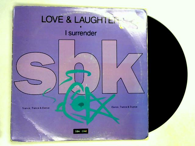 I Surrender 12in by Love & Laughter