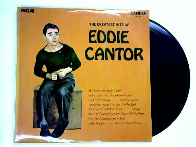The Greatest Hits Of Eddie Cantor LP By Eddie Cantor