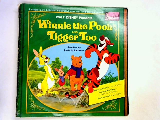 Winnie The Pooh And Tigger Too LP by A.A. Milne / Sterling Holloway & Various