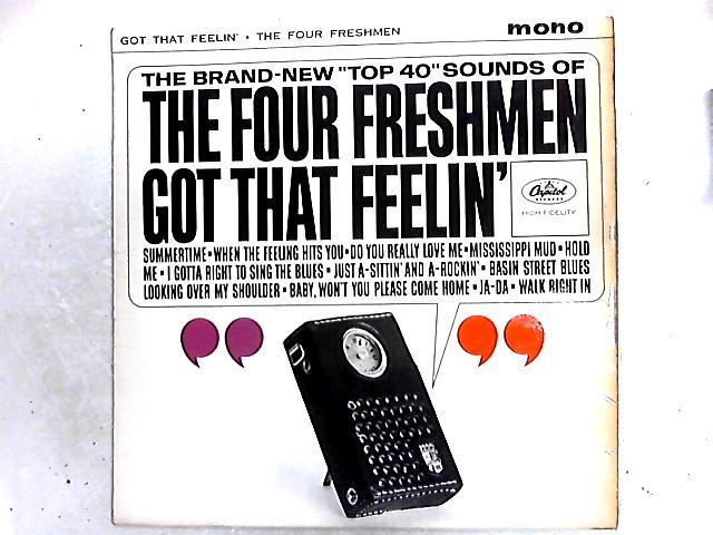 The Four Freshmen Got That Feelin' LP by The Four Freshmen