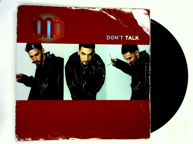 Don't Talk 12in 1st by Jon B