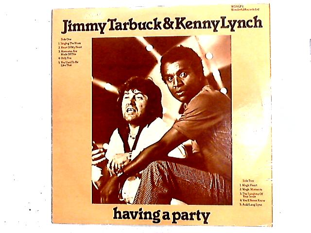 Having A Party LP by Jimmy Tarbuck