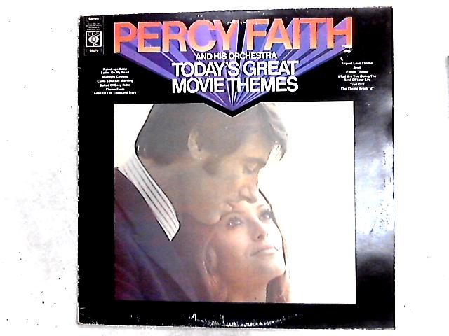 Today's Great Movie Themes LP By Percy Faith & His Orchestra