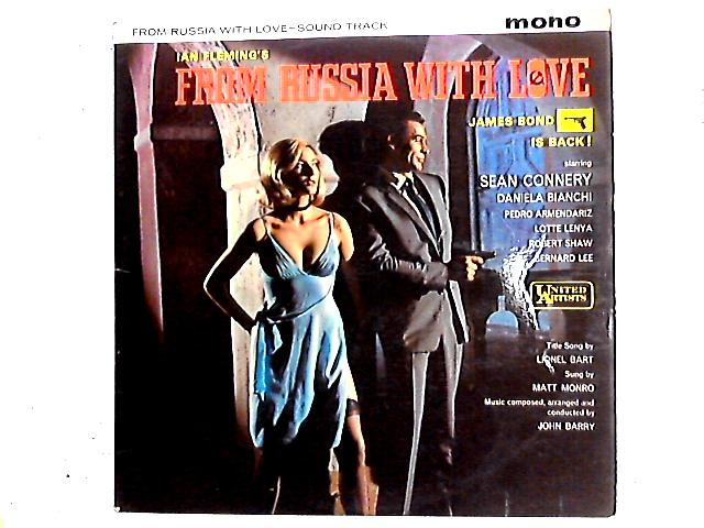 From Russia With Love (Sound Track) LP by John Barry