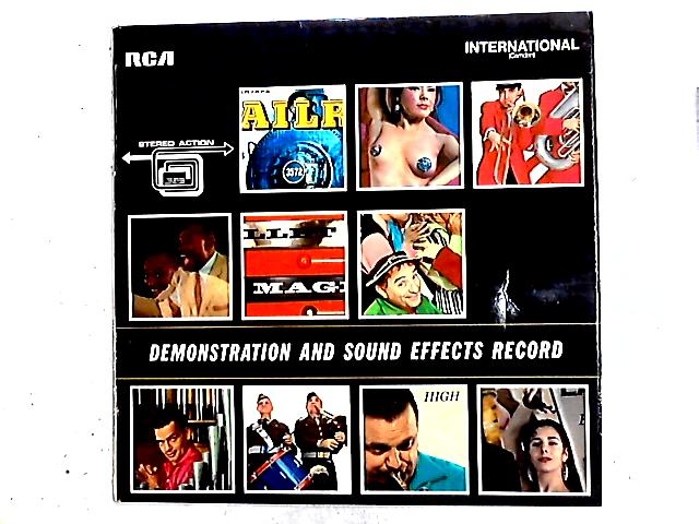 Stereophonic Demonstration And Sound Effects LP By No Artist