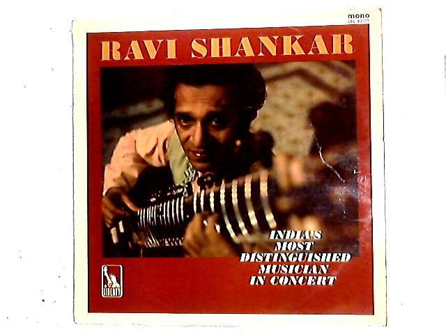 In Concert LP By Ravi Shankar