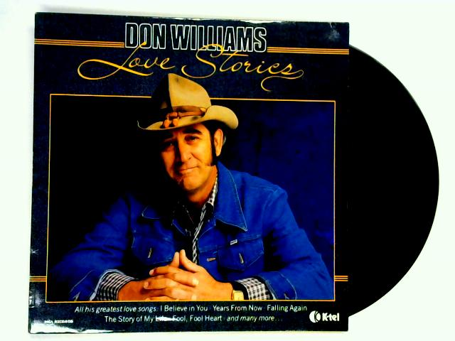 Love Stories LP by Don Williams
