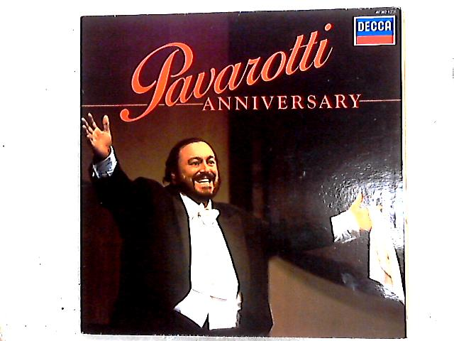 Anniversary Comp + Booklet by Luciano Pavarotti