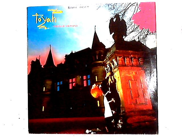 The Blue Meaning LP by Toyah