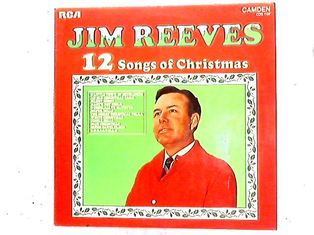 12 Songs Of Christmas LP by Jim Reeves