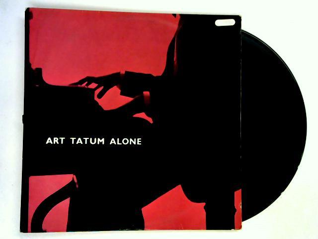 Alone LP by Art Tatum
