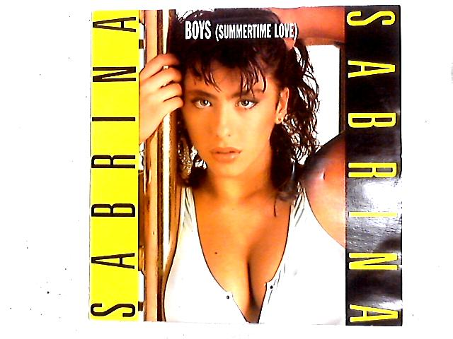 Boys (Summertime Love) 12in by Sabrina