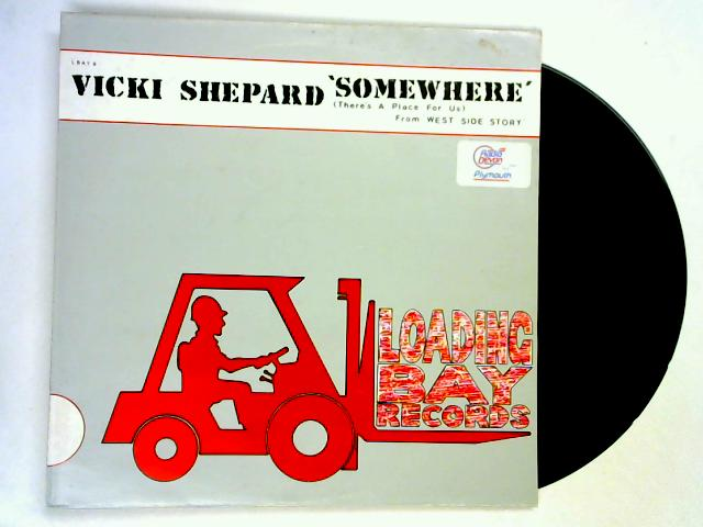 Somewhere (There's A Place For Us) (From 'West Side Story') 12in wl by Vicki Shepard