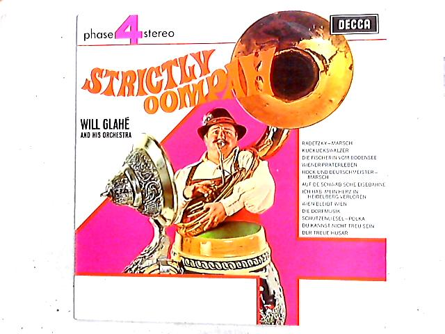 Strictly Oompah LP by Will Glahé Und Sein Orchester