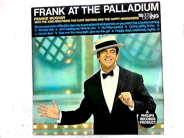 Frank At The Palladium LP by Frankie Vaughan