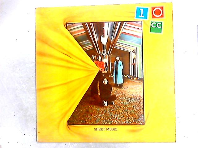 Sheet Music LP by 10cc