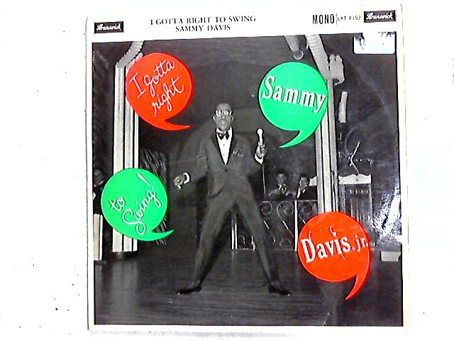 I Gotta Right To Swing LP by Sammy Davis Jr.