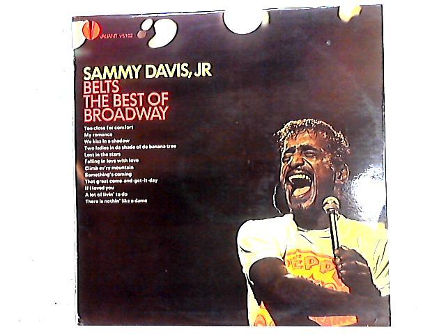 Sammy Davis Jr. Belts The Best Of Broadway LP by Sammy Davis Jr.
