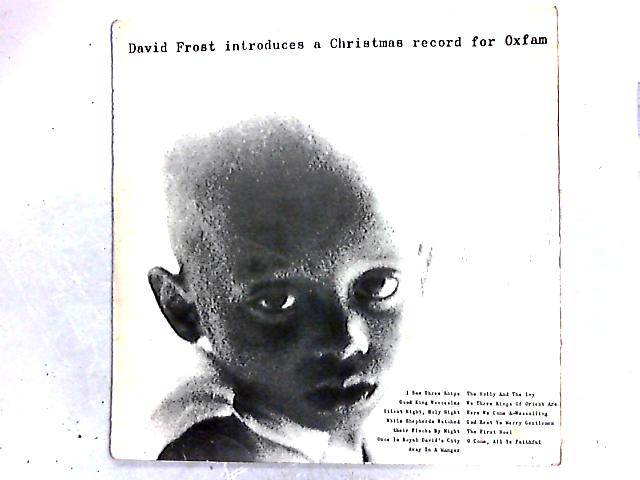 David Frost Introduces A Christmas Record For Oxfam LP by John Gregory And His Orchestra