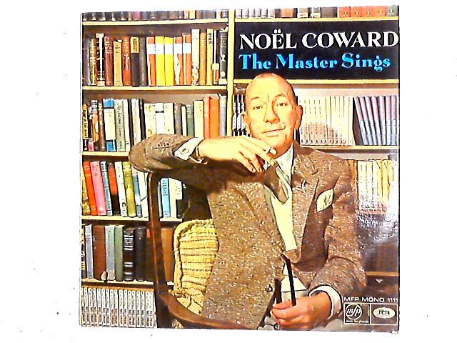 The Master Sings LP by Noël Coward