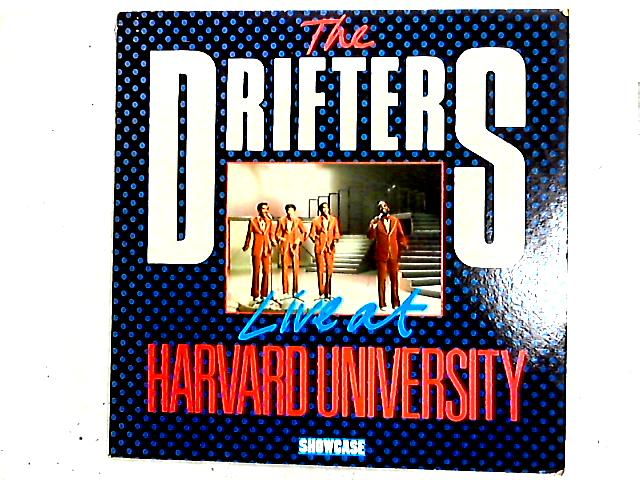 Live At Harvard University LP by The Drifters