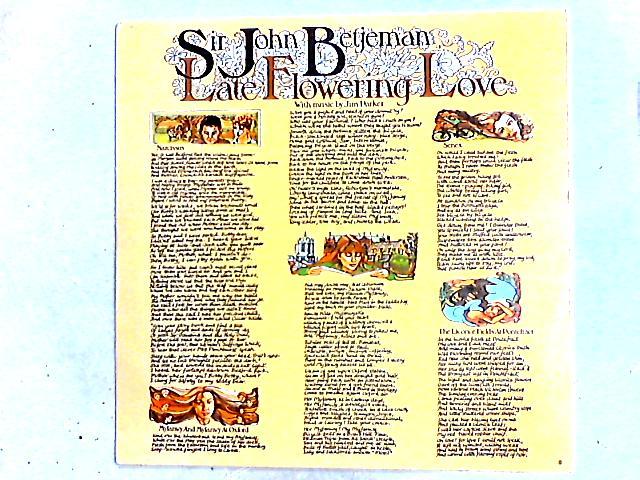 Late Flowering Love LP by John Betjeman