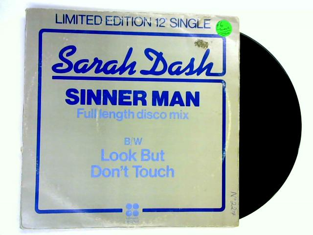 Sinner Man / Look But Don't Touch 12in 1st By Sarah Dash