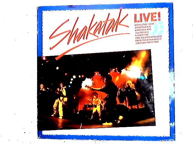 Live! LP By Shakatak