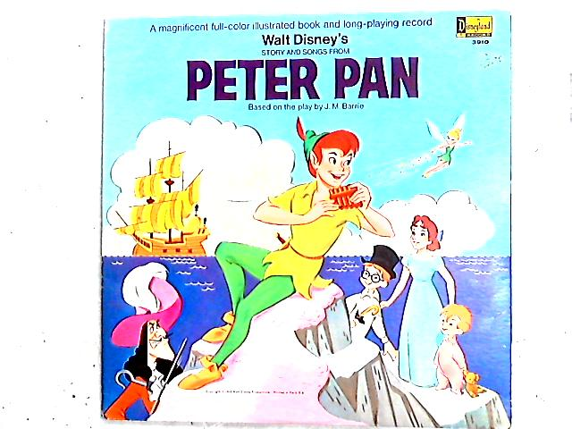 Walt Disney's Story And Songs From Peter Pan LP Gat By Various