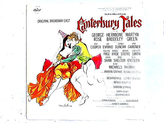 Canterbury Tales - Original Broadway Cast LP By George Rose