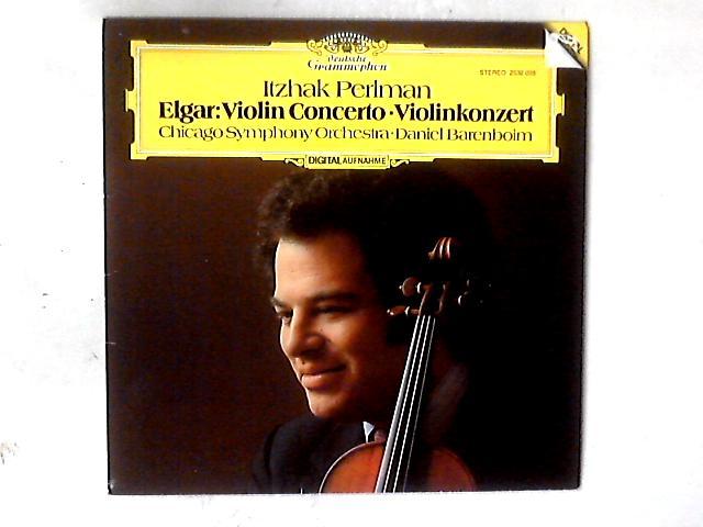 Violin Concerto • Violinkonzert LP by Sir Edward Elgar