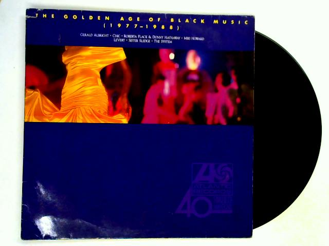 The Golden Age Of Black Music (1977–1988) LP by Various
