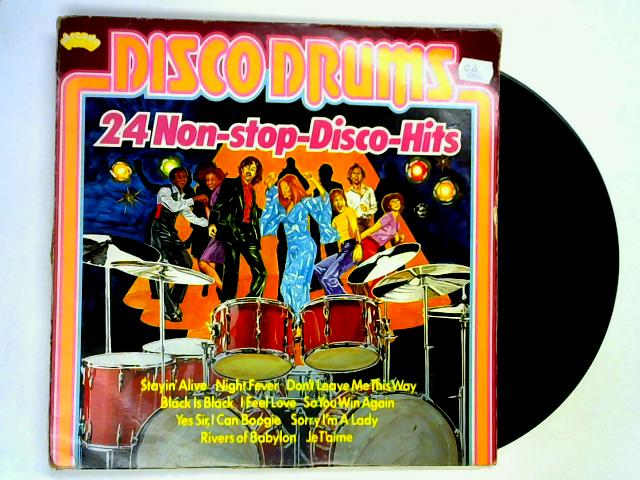 Disco Drums (24 Non-Stop-Disco-Hits) LP By Various