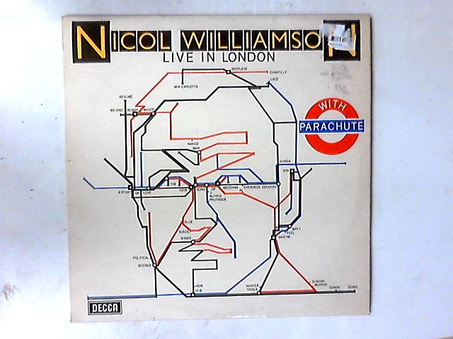 Live In London With Parachute LP by Nicol Williamson