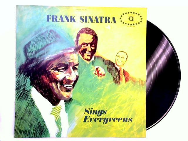 Sings Evergreens Vol.4 LP by Frank Sinatra