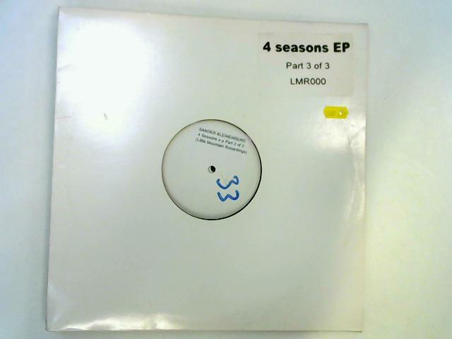 4 Seasons EP (Part 3 Of 3) 2x12in wl by Sander Kleinenberg