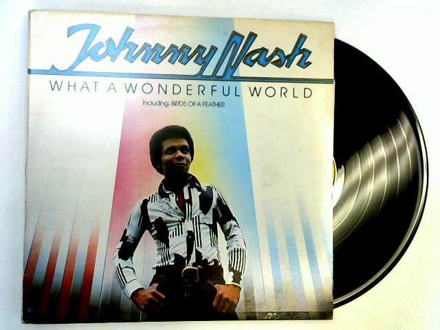 What A Wonderful World LP 1st By Johnny Nash
