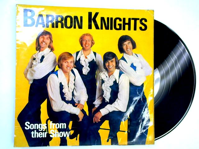 Songs From Their Shows LP SIGNED By The Barron Knights