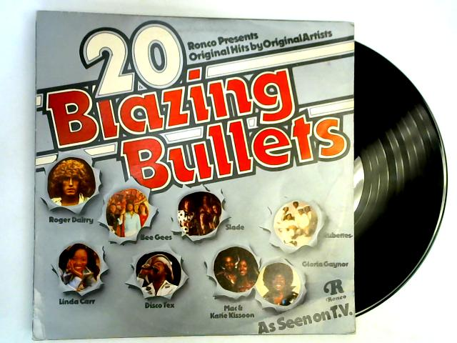 20 Blazing Bullets LP 1st by Various