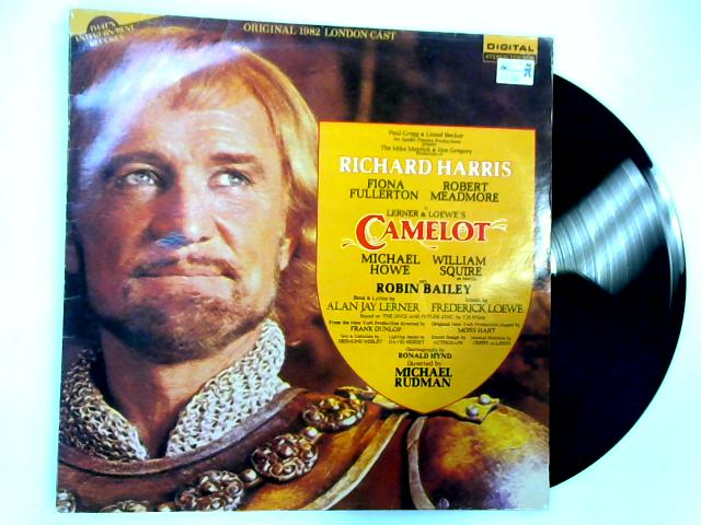 Camelot LP by Original 1982 London Cast