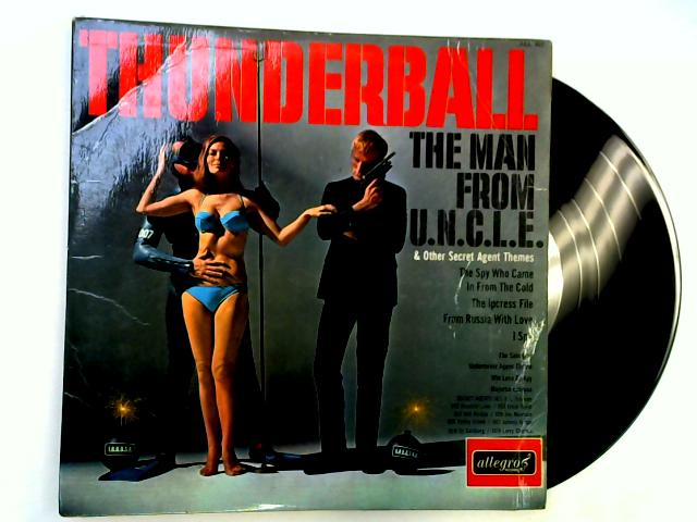 Thunderball & Other Secret Agent Themes LP by The Jazz All-Stars