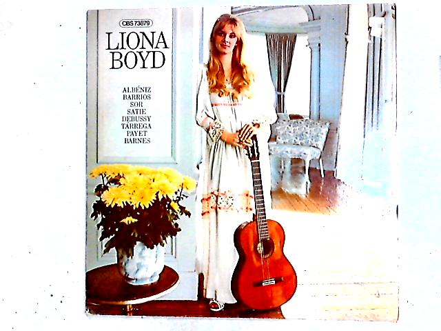 Liona Boyd Spielt Gitarrenwerke LP by Liona Boyd