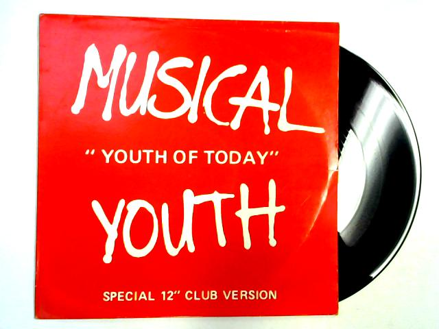 Youth Of Today (Club Version) 12in by Musical Youth