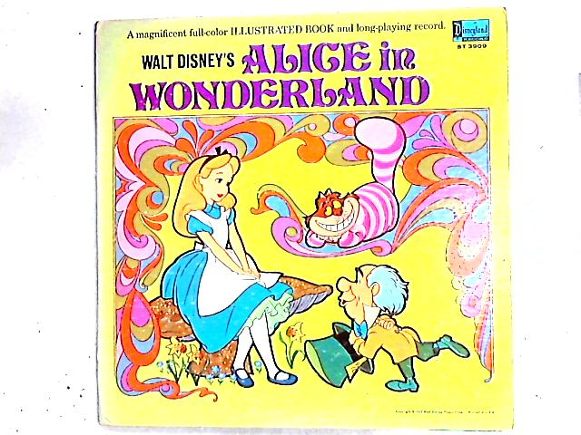 Walt Disney's Alice In Wonderland LP by Various