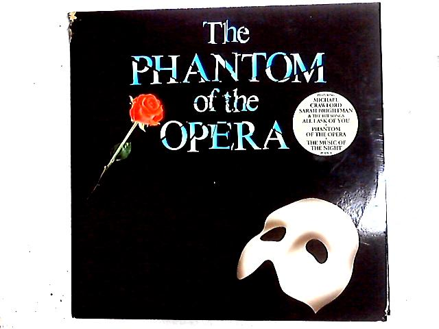 The Phantom Of The Opera 2LP + Booklet by Andrew Lloyd Webber