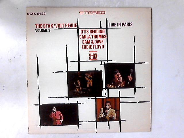 The Stax / Volt Revue Volume 2 Live In Paris LP by Various