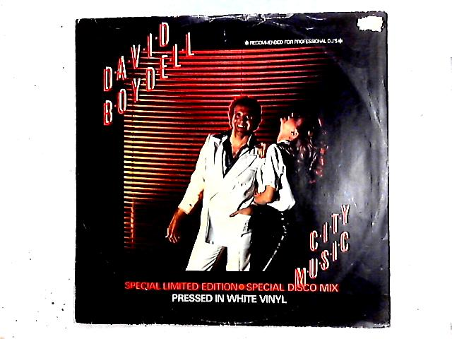 City Music / Red Light 12in white By David Boydell