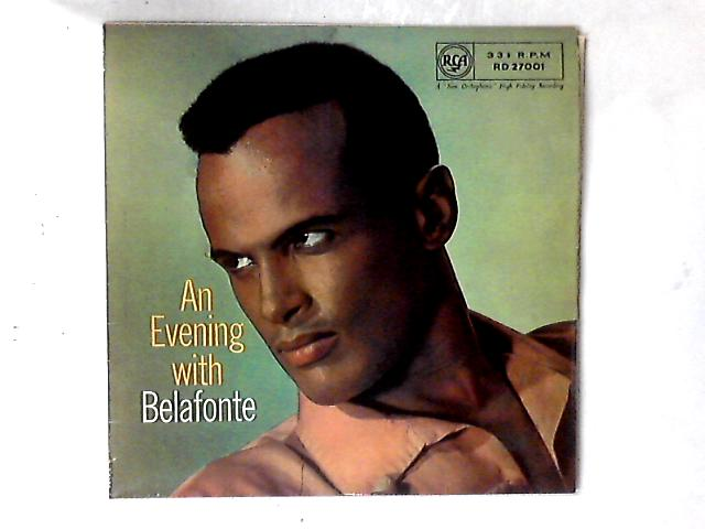 An Evening With Belafonte LP by Harry Belafonte