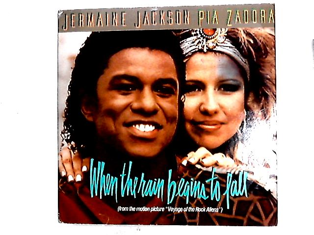 When The Rain Begins To Fall 12in By Jermaine Jackson